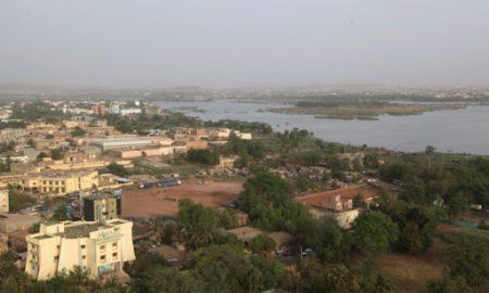 Vue du quartier de N'golonina à Bamako, le 21 mars 2017