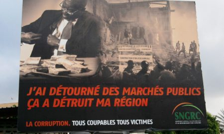 Campagne de lutte contre la corruption en 2013