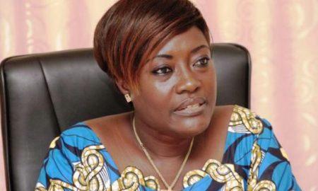 La ministre de la Femme, de la Protection de l'Enfant et de la Solidarité, Mariatou Koné