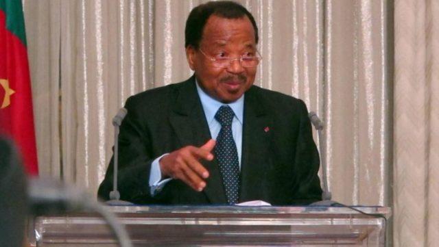 paul+biya+Cameroun+election