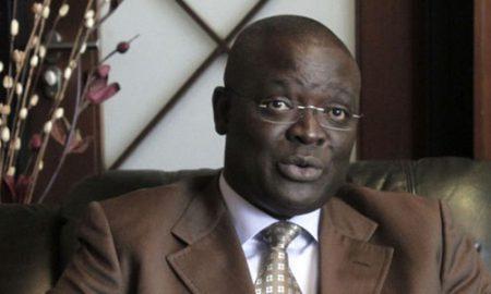 Le directeur général pour l'Afrique de la Fondation Rockefeller, Mamadou Biteye Obe,.