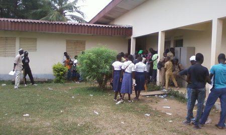 M'Bahiakro - école - rentrée