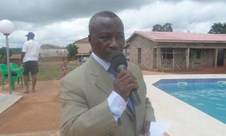 Le promoteur du complexe hôtelier Iriée de Bouaflé, Kouakou Firmin
