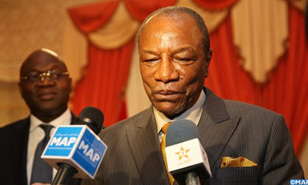 Guinée - Alpha Condé - politique