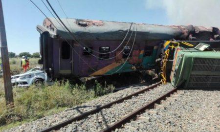 accident de train - Cameroun - accident