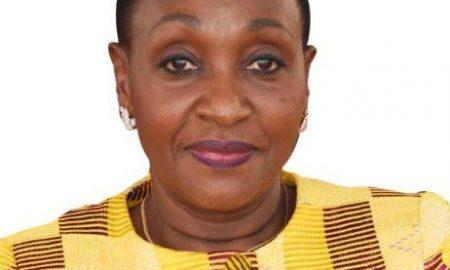 La ministre de la Santé et de l'Hygiène publique, Raymonde Goudou Coffie
