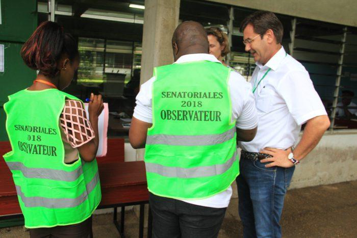 Sénatoriales ivoiriennes : fermeture des bureaux de vote début du
