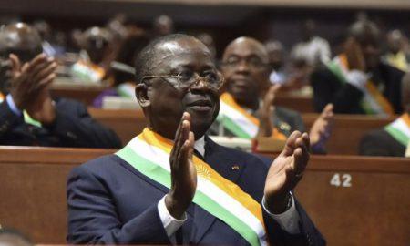 Le président du sénat ivoirien, par ailleurs, vice-président du PDCI, Jeannot Ahoussou Kouadio