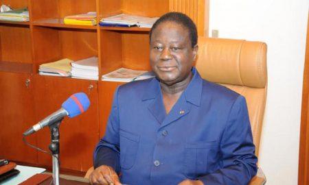 Le président du Parti démocratique de Côte d'Ivoire (PDCI), Henri Konan Bédié