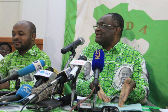 Le Pdci a saisi le juge des référés pour « suspendre » l'utilisation de son logo par le Rhdp, dans le cadre des élections locales du 13 octobre 2018
