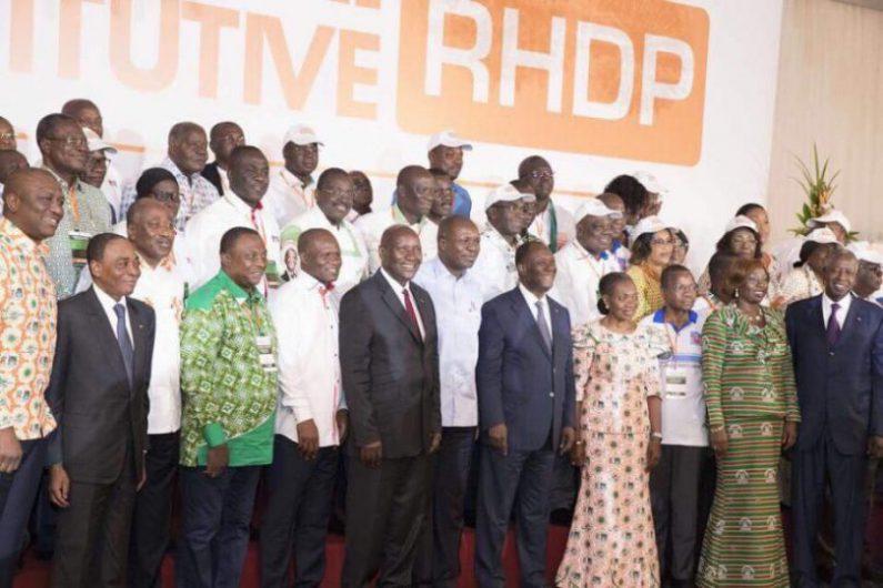 RHDP-politique