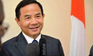 Son-excellence-Tang-Weibin-ambassadeur de la Chine