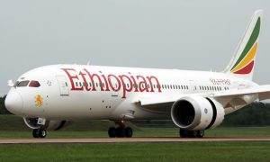 avion- Ethiopian Airlines
