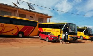 Abengourou - gare - transport - bus - car - CTE