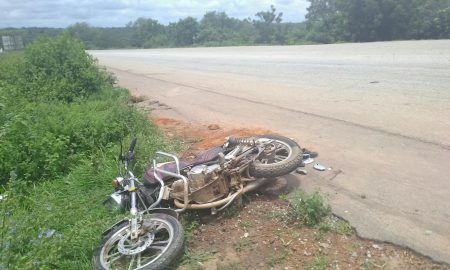 Accident moto - Grand-Bassam