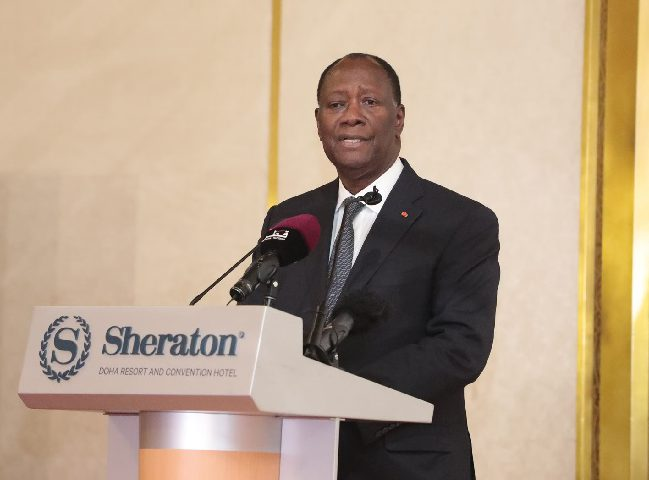 Alassane Ouattara - Qatar - économie - diplomatie - politique