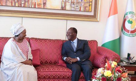 Alassane+ouattara+Dlamini+Zuma+diplomatie+politique