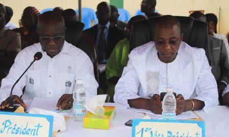 Bouaké Fofana et Issiaka Fofana-Worodougou-élections-locales