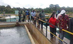 Le ministre de l'Hydraulique, satisfait des solutions d'eau de Bouaké
