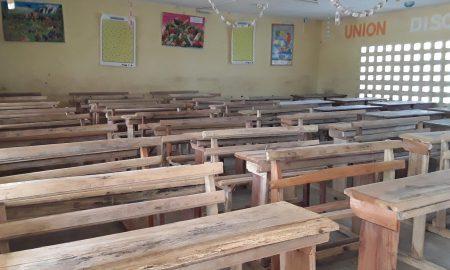 Bouna - Bounkani - Ecole - Classe - Table-bancs - Tiboultédouo
