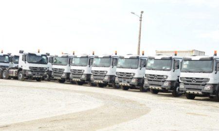 Camions - Assainissement - CVET - environnement - Eco Eburnie