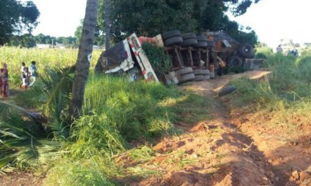 Ferkessédougou - accident - camion