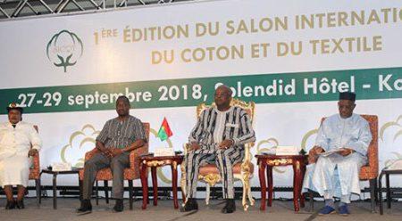 Kaboré - Burkina Faso - salon du Coton