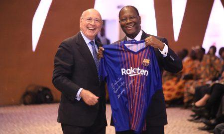 Llopis - CGECI Academy - Alassane Ouattara - FC Barcelone - Football