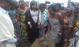 Lancement à Bangolo (Ouest) des travaux de construction d'un marché de gros de produits vivriers qui sera le lieu de collecte des productions