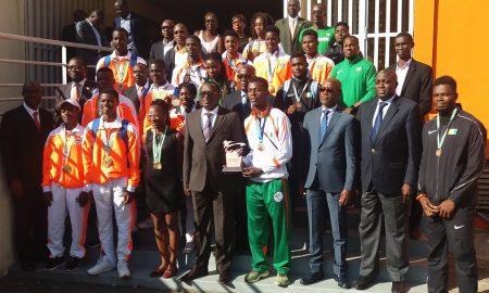 Ministère des Sports - Danho Paulin - Abidan - athlétisme