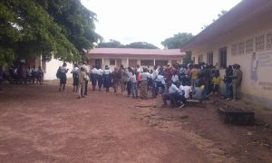 Ouangolodougou - Lycée moderne - élèves - école