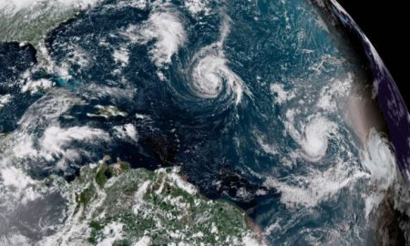 Ouragan - Florence - Terre - planète - espace -satellite