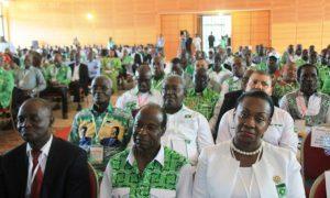 PDCI-RDA - Bureau politique - Daoukro