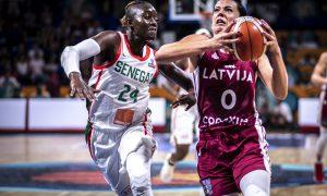 Sénégal - Lettonie - FIBA - Basket
