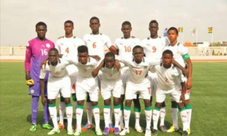 Sénégal - football - u17 - UFOA