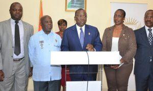 Sénat - Ahoussou-Kouadio Jeannot - parlement - politique
