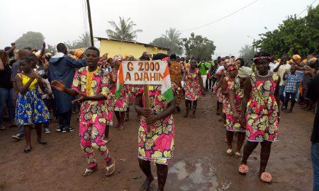 Les vacances scolaires ont été très animées dans la région du Gbôklè avec l'organisation de nombreuses activités culturelles