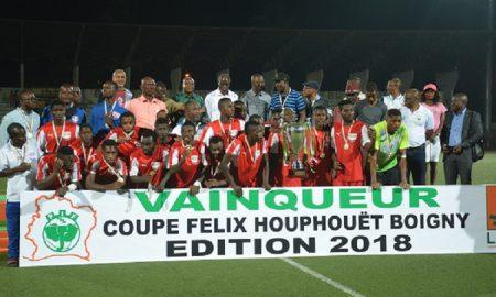 Le Stade d'Abidjan a remporté la super coupe Houphouët-Boigny