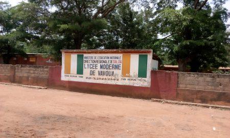 Vavoua - lycée moderne - rentrée
