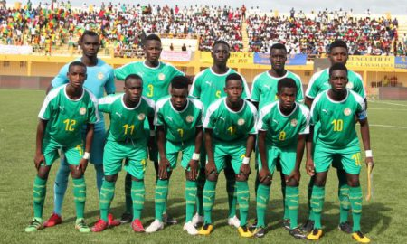 lionceaux - Sénégal - football - UFOA U17
