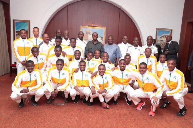 équipe nationale Eléphanteaux - Côte d'Ivoire - Alassane Ouattara - Qatar - Doha