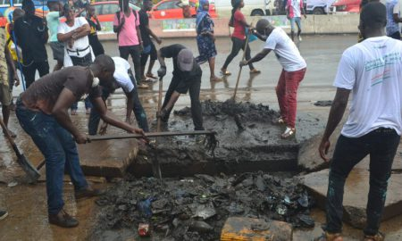 Abidjan - grand ménage - élection zéro déchet - environnement