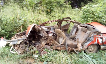 Aboisso - accident - voiture