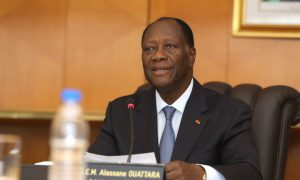 Alassane Ouattara - élection présidentielle