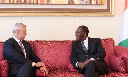 Alassane Ouattara - Bill Winters - Standard Chartered Bank - économie - banques