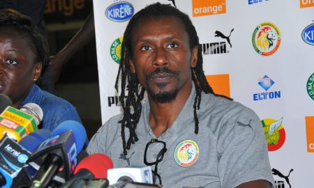 Aliou Cissé - Sénégal - football - coach - CAN 2019