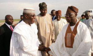 Atiku Abubakar - Olusegun Obasanjo - Nigeria