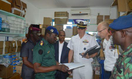 Camp Militaire de Bouaké - USA - PEPFAR - MCC - Millenium Challenge Corporation