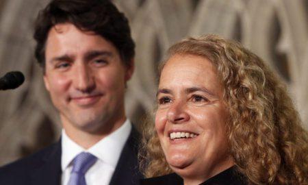 Canada - Gouverneure Générale - Julie Payette - Justin Trudeau