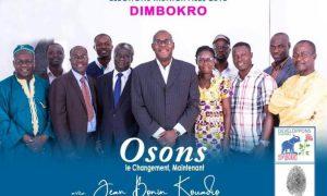 Dimbokro - municipales - Jean Bonin Kouadio